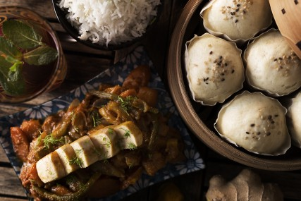Asian food photography
